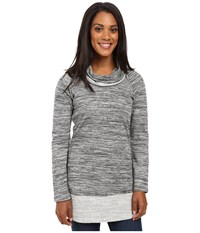 Aventura Clothing Brooklyn Tunic Black Women's Long Sleeve Pullover