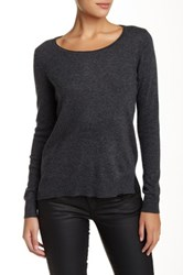 Mavi Jeans Basic Long Sleeve Sweater Gray