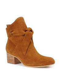 Rachel Zoe Kate Oil Suede Booties Tan