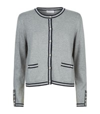 Claudie Pierlot Maxipunk Pearl Cardigan Female Grey