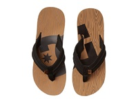 Dc Central Graffik Wood Men's Sandals Brown