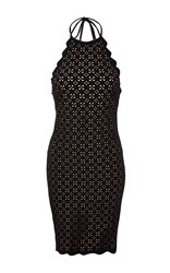 Marysia Swim Laser Cut Mott Dress Black