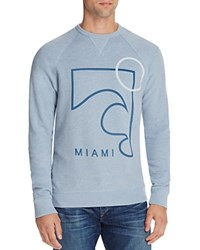 Junk Food Miami Graphic Sweatshirt Vnt Blu Hr