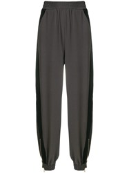 See By Chloe Panelled Harem Trousers Grey