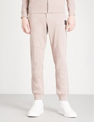 Belstaff Oakington Cotton Jersey Jogging Bottoms Ash Rose