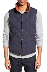 Men's Scotch And Soda Reversible Quilted And Camo Puffer Vest