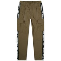 A Bathing Ape Side Tape Stretch 6 Pocket Pant Green