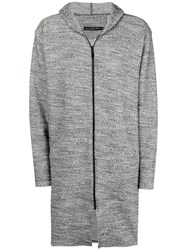 Alchemy Hooded Zipped Jacket Grey