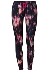 Roxy Break Free Tights True Black City Lights Print