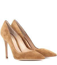Gianvito Rossi Exclusive To Mytheresa.Com 105 Suede Pumps Brown