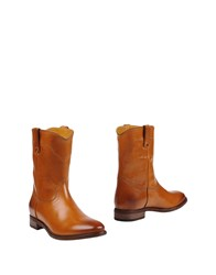Ralph Lauren Ankle Boots Brown