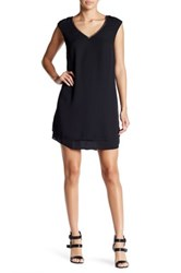 Daniel Rainn Sleeveless Embellished Neck Dress Regular And Petite Black