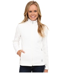 Spyder Major Cable Core Sweater White Women's Sweater