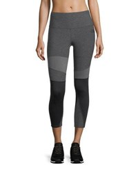 The North Face Motivation Paneled Performance Tights Gray Black
