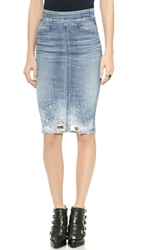 Citizens Of Humanity Karmen Pencil Skirt Splattered