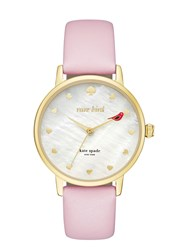 Kate Spade Rare Bird Metro Watch Ballet Slipper Gold