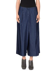 Noshua Denim Denim Skirts Women Blue