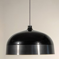 Innermost Glaze 56 Pendant Black And Charcoal