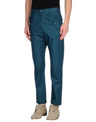 Camo Casual Pants Deep Jade