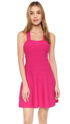 Shoshanna Bessie Dress Deep Fuchsia
