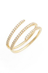Bony Levy Women's Diamond Spiral Ring Nordstrom Exclusive