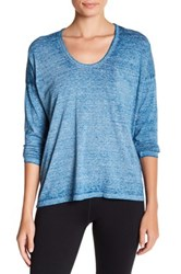 Threads For Thought Clementine Long Sleeve Burnout Tee Beige