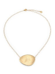 Marco Bicego Lunaria 18K Yellow Gold Pendant Necklace