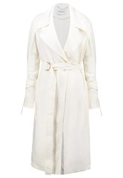 Maxandco. Caterina Trenchcoat Ivory Off White