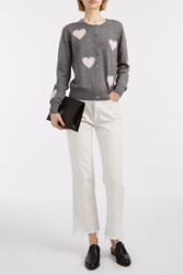 Markus Lupfer Jewel Heart April Cardigan