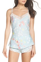 Josie Bardot Dreamland Short Pajamas Seaglass Blue