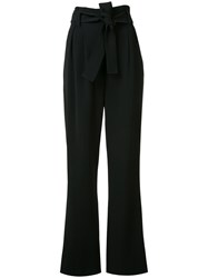 A.L.C. Bow Tie High Waisted Trousers Black