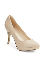 Nine West Prisilla Faux Leather Platform Pumps
