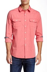 Micros Refugee Woven Shirt Red