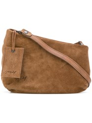 Marsell Asymmetric Crossbody Bag Women Suede One Size Brown