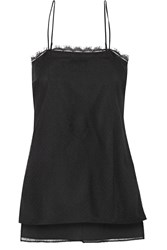 Adam By Adam Lippes Lace And Silk Camisole
