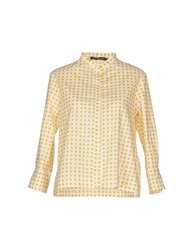 La Camicia Bianca Shirts Yellow