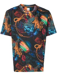 Paul Smith Explorer Print T Shirt 60