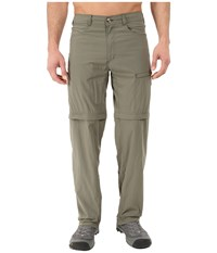 Exofficio Bugsaway Ziwa Convertible Pants Bay Leaf Men's Casual Pants Brown