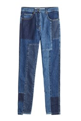 Mcq By Alexander Mcqueen Patchwork Jeans
