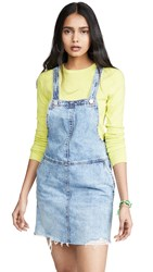Blank Denim Blow The Bag Overall Dress Blue