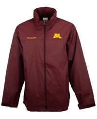 Columbia Men's Minnesota Golden Gophers Glennaker Lake Jacket Maroon
