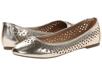 Report Mandie Gold Women's Flat Shoes