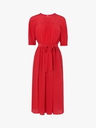 Lk Bennett L.K.Bennett Reina Tie Waist Dress Red