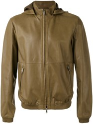 Desa 1972 Hooded Zip Up Jacket Green