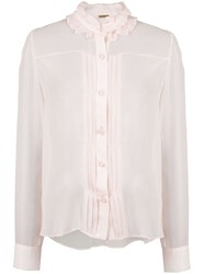 Adam By Adam Lippes Pleated Front Blouse 60