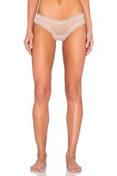 Only Hearts Club Whisper Brazilian Bikini With Lace Beige