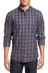 Nordstrom Men's Big And Tall Men's Shop Heathered Check Sport Shirt