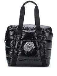 Moncler Logo Patch Padded Tote Bag 60