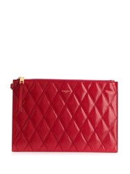 Givenchy Gv3 Quilted Pouch Red