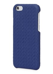 The Case Factory Navy Leather Iphone 6 6S Case